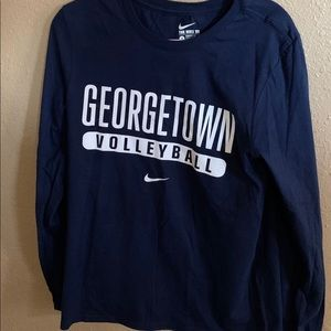 Nike Georgetown Long Sleeve Size Small